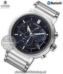 Citizen bluetooth herenhorloge edelstaal chrono