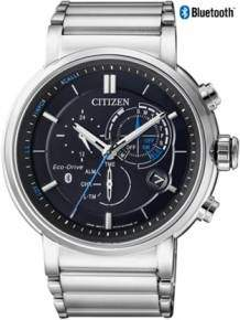citizen bz1001-86e horloge bluetooth eco drive heren