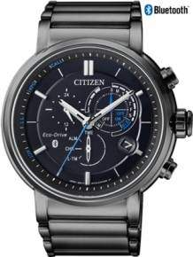 citizen bz1006-8602e horloge bluetooth eco drive heren zwart