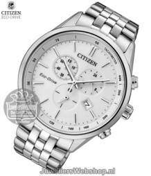 Citizen AT2141-87A horloge Eco-Drive Chrono Wit