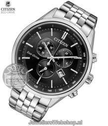 Citizen AT2141-87E horloge Eco-Drive Chrono Zwart