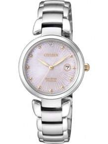 Citizen dameshorloge EW2506-81Y Eco-Drive Titanium