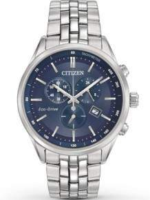 citizen at-2141-52l chrono heren eco drive horloge blauw