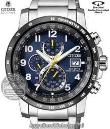 AT8124-91L Citizen horloge Radio Controlled Eco Drive Sport