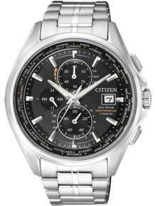 citizen at8130-56e elegance radio controlled eco drive titanium horloge