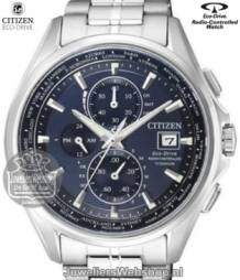 at8130-56l citizen herenhorloge radio controlled titanium eco drive blauw
