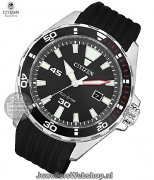 bm7459-10e citizen herenhorloge eco drive sports staal zwart