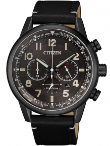 citizen ca4425-28e chrono herenhorloge zwart