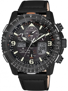 Citizen Radio Controlled JY8085-14H Zwart