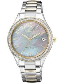 citizen elegance dameshorloge eo1184-81d eco drive