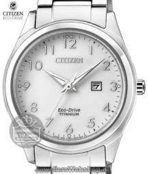 citizen titanium dameshorloge ew2470-87e eco drive wit