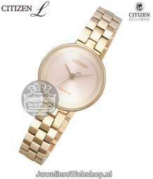ew5503-59w citizen dames horloge elegance eco drive ladies rose