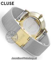 CL30024 Cluse Watch staal Goud - Zilver