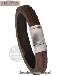 dacaya t-junction armband F119214 bruin