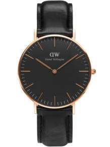 | Daniel Wellington Horloge Classic Black Sheffield Rose DW00100139