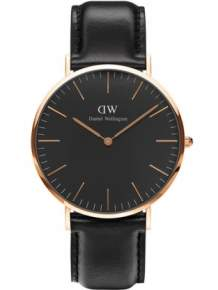 Daniel Wellington Horloge Classic Black Sheffield Rose DW00100127