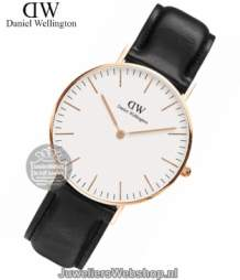 Daniel Wellington Horloge Classic Sheffield Rose DW00100036