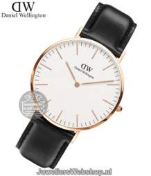 Daniel Wellington Horloge Classic Sheffield Rose DW00100007