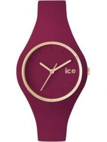 ICe Glam Forest Anemone Horloge Bordeaux Rood