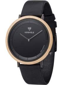 Kerbholz Slim Midnight Maple Midnight Black Horloge 4251240407418