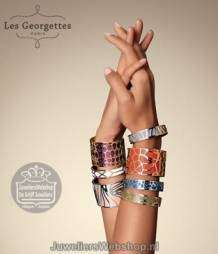 Les Georgettes Girafe Armband Rosegoud 25mm