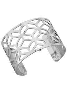les georgettes armband alhambra silver 40mm