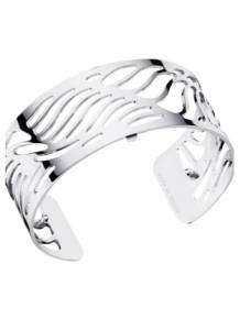 les georgettes armband wave silver 25mm