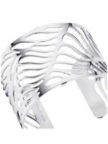 les georgettes armband wave silver 40mm