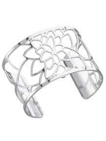 les georgettes armband nenuphar silver 40mm