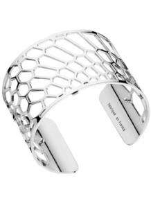 les georgettes armband nid d abeille silver 40mm