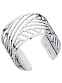 les georgettes armband ruban silver 40mm