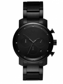 MVMT Chrono 40 Black Link D-MC02-BB