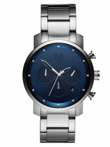 MVMT Chrono 40 Midnight Silver D-MC02-SBLU