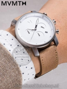 MVMT Chrono 40 White Caramel D-MC02-WT