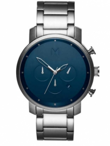 MVMT Chrono Midnight Silver D-MC01-SBLU