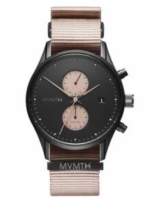 252b8436baf MVMT Voyager Desert 42 Horloge Heren. MVMT D-MV01-BLBR Zwart Horloge