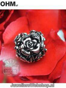 ohm beads bedel rose aan007