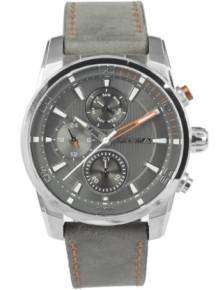 Prisma Herenhorloge P.1591 Traveller Time Grey