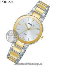 Pulsar horloge PH8284X1 dames Bicolor