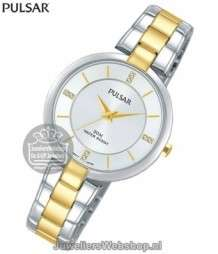 Pulsar horloge PH8314X1 dames Bicolor