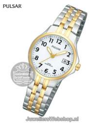 pulsar bicolor horloge ph7222x1  dames