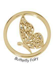 quoins butterfly fairy munt QMB-50L-G