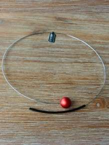 step by step ketting rood zwart 600669