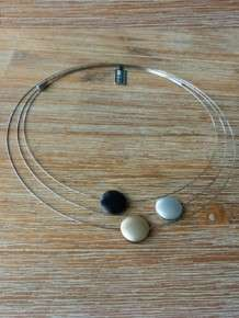 step by step ketting zwart 600691