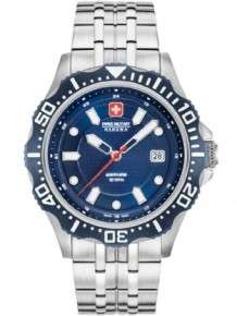 swiss military 06-5306.04.003 herenhorloge blauw