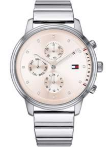 tommy hilfiger blake dameshorloge th1781904 multidate staal