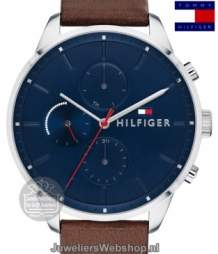 tommy hilfiger chase heren horloge th1791487 multi date