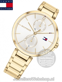 Tommy Hilfiger Dames Horloge TH1782128 Angela Goud
