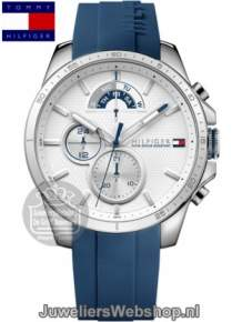 | Tommy Hilfiger Horloge TH1791349 Decker Multi-Date Blauw