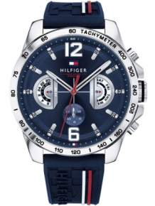 Tommy Hilfiger Horloge TH1791476 Decker Multi-Date Blauw
